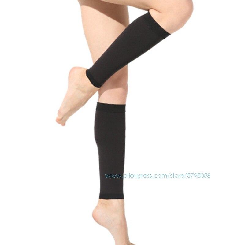 Chaussettes de Compression pour femmes et hommes varices varices chaussette Tube moyen bonneterie jambes Protections chaussettes