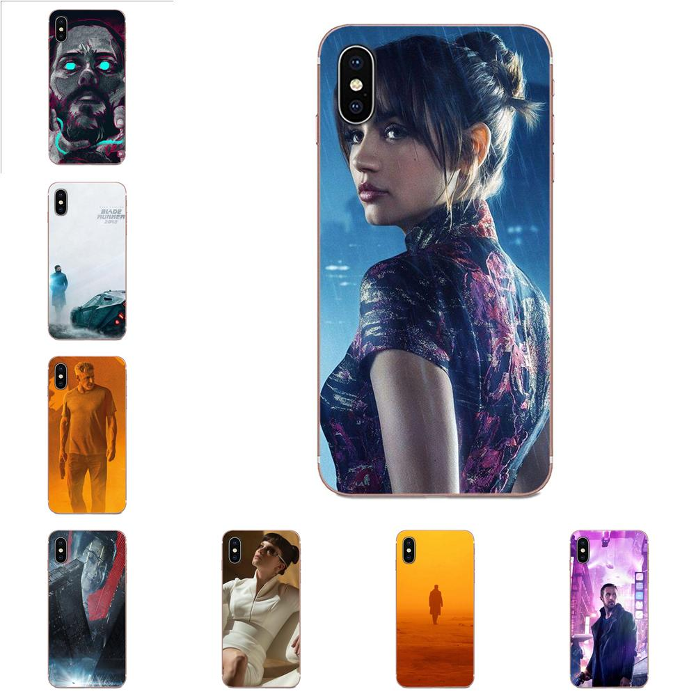 Transparente cubierta de piel TPU para Xiaomi Redmi nota 2 3 3S 4 4A 4X 5 5A 6 6A Pro Plus Blade Runner 2049
