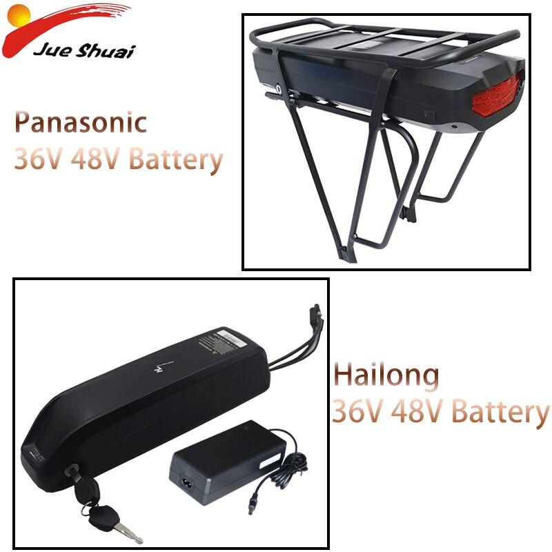 UE No impuesto aire envío bicicleta eléctrica batería 36V 48V Samsung 18650 celdas para 1000W 1500W Hub Motor E bicicleta Ebike batería de litio
