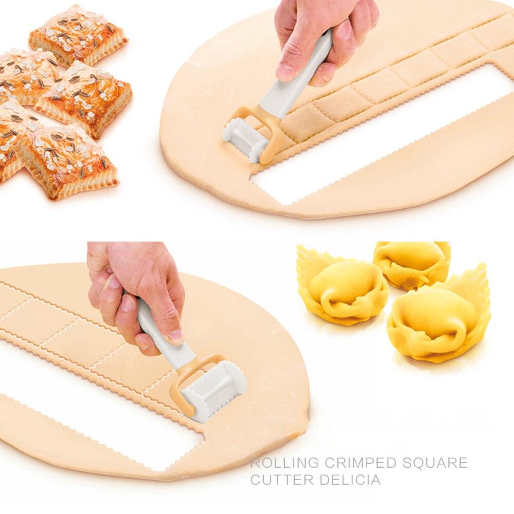 Molde de rodillo para galletas, molde para hacer galletas, prensa de masa de plástico, utensilios de cocina, pastelería, cortador, molde para tarta, molde de rodillo DIY