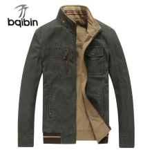 Military Double-wear Jacket Men Brand Autumn Winter Cotton Mens Jackets and Coats Outwear Casual Win