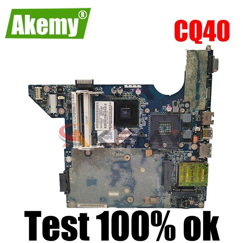 Akemy JAL50 LA-4101P 590316-001 577512-001 578600-001 كمبيوتر محمول لوحة رئيسية لأجهزة HP كومباك presario CQ40 غيفورسي G103M اللوحة الرئيسية