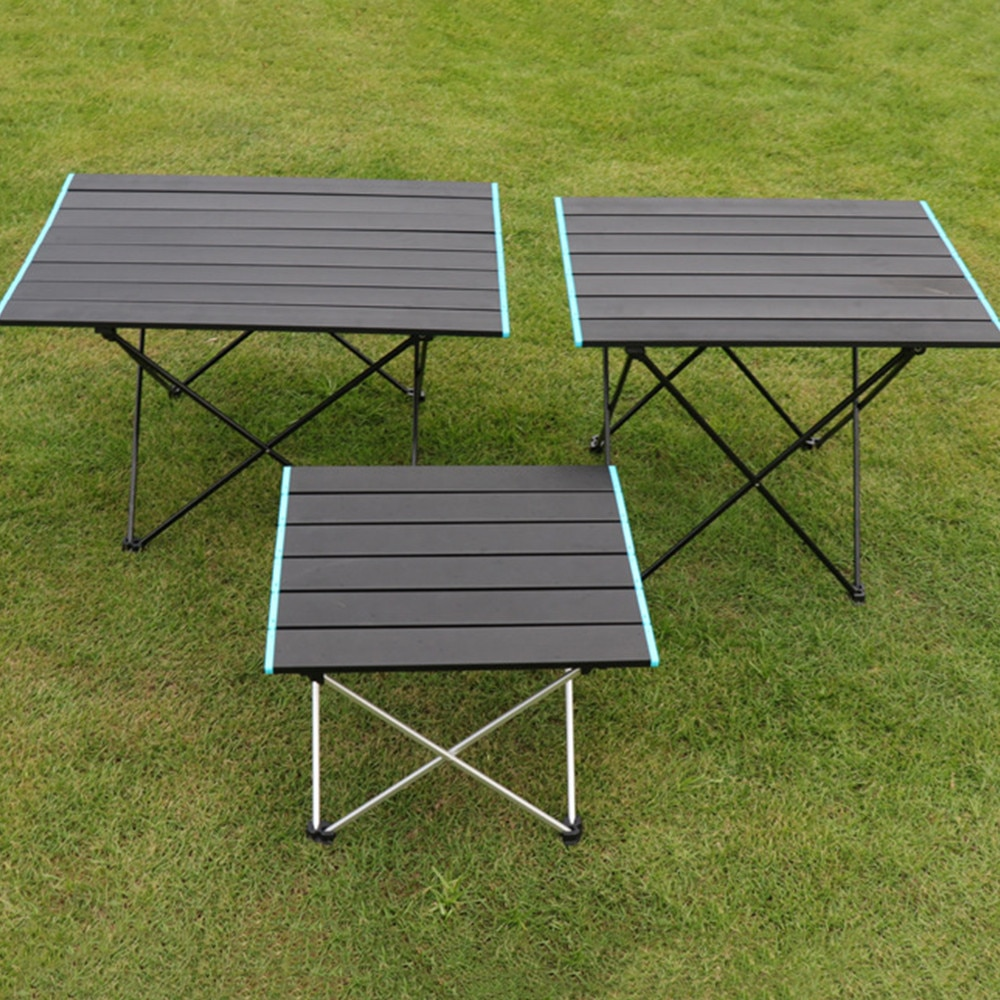 Folding Table Picnic Desk Camping Outdoor Camping Equipment Portable Outdoor Dining Sets Aluminum Fishing Mesas Aluminum alloy