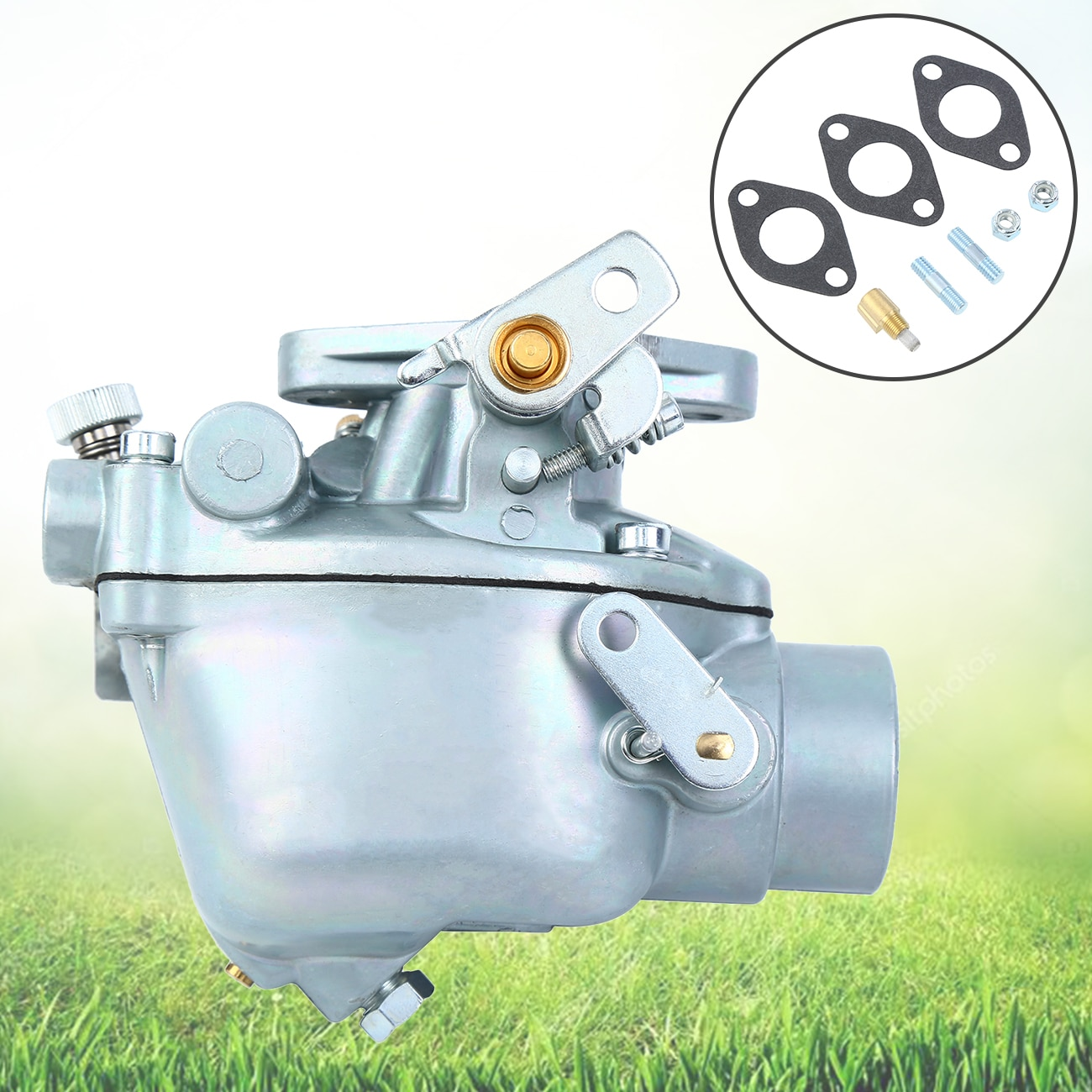 Samger 533969M91 Carburetor For Massey Ferguson Tractor F40 MH50 TO35 202 204 For Custom Long lasting and Low Power Consumption hot sale 3429996m1 cross joint universal joint suitable for massey ferguson tractor parts
