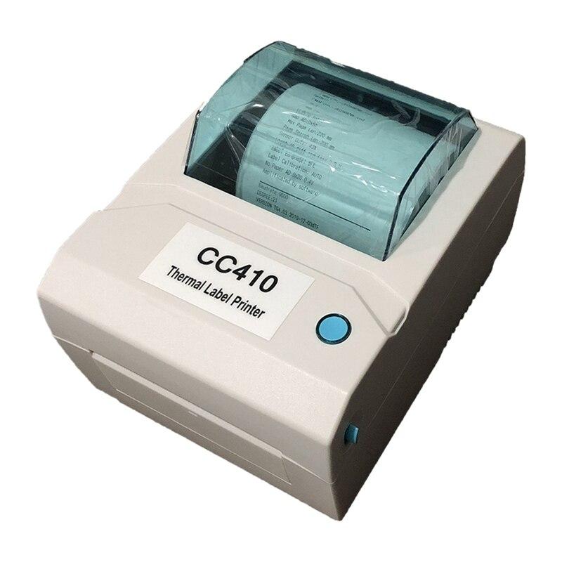 طابعة باركود حرارية تسمية طابعة شحن طابعة التسمية 100X100 / 100X150 110 مللي متر تسمية الطباعة