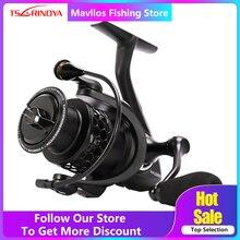 Tsurinoya NA 2000 3000 4000 5000 Carrete de Pesca Spinning 9BB 5.2: 1 Pesca de La Carpa Carrete De Aluminio del Carrete de Agua Salada bobina