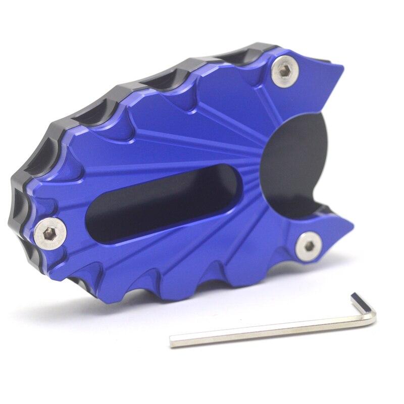 Para SUZUKI SV650 SV650X GLADIUS 2009-2017 2018 20192019, placa de soporte de extensión de caballete de soporte CNC para motocicleta