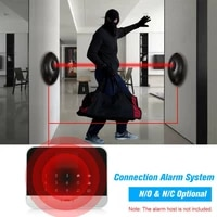 20m single beam alarm photoelectric infrared detector security system door smart home water proo uv proof safety sensor