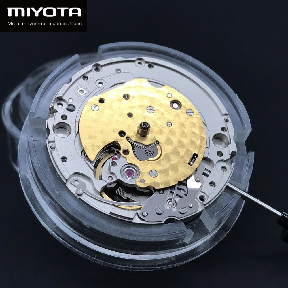 Japan Miyota 90S5 Luxury Automatic Mechanical Movment Ultra-thin Self-winding Wristwatches Replace Movement 24 Jewels Branded
