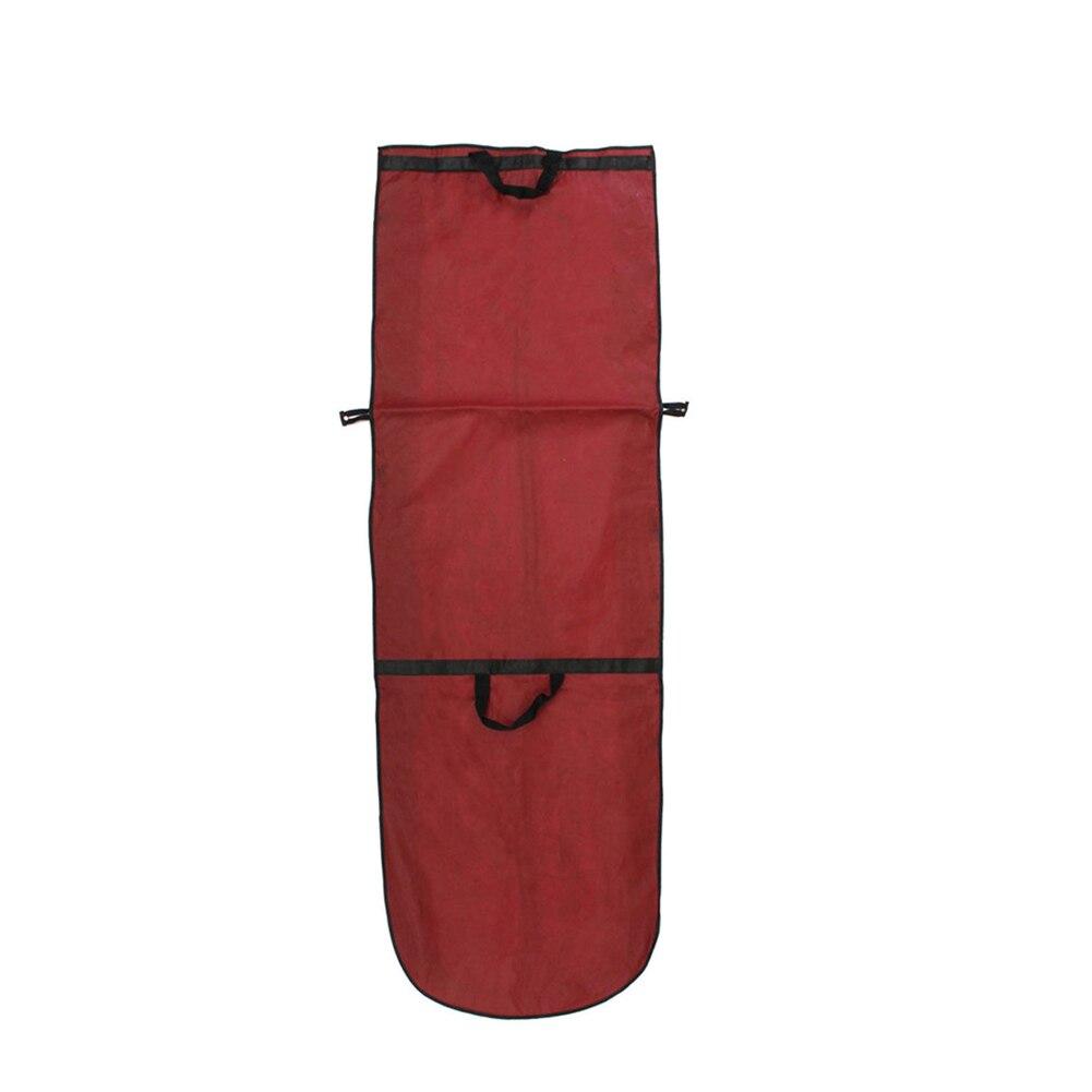 Bolsa de ropa bata ropa portátil vestido de boda Protector plegable a prueba de polvo bolsa transpirable largo Zip ropa de almacenamiento
