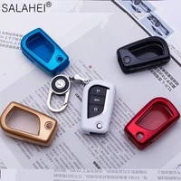 new abs car remote key cover case for toyota auris corolla avensis verso yaris aygo scion tc im 2015 2016 camry rav4 accessories