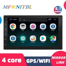 Autoradio 2 Din Car stereo Android lettore multimediale autoradio 2Din 7 ''schermo di tocco di GPS WIFI Bluetooth FM auto lettore audio