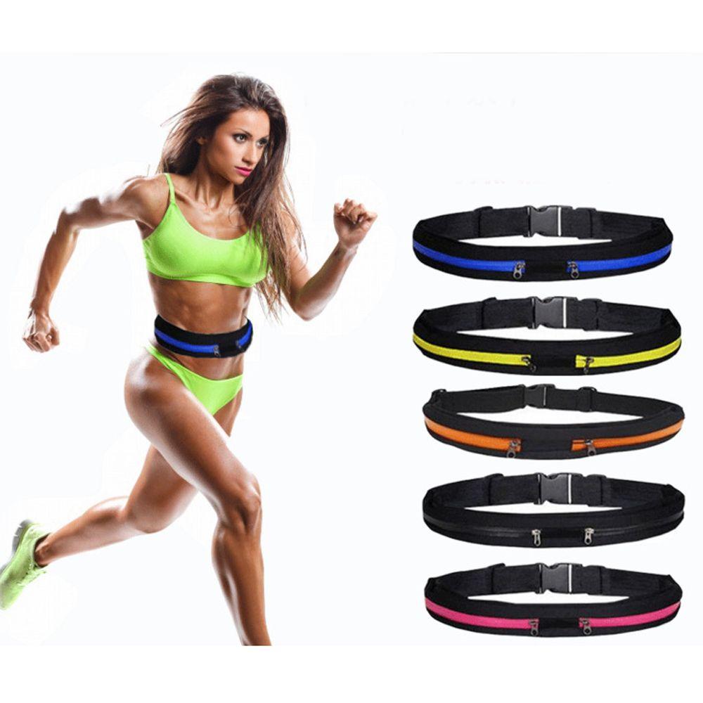 Sac de sport à attacher à la taille, pochette imperméable à la ceinture, pour course à pied, Jogging, Jogging, sacoche de gymnastique ajustable