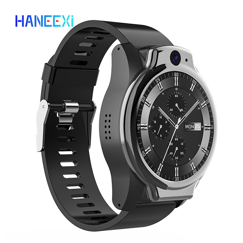 Get Real 5ATM ip68 Waterproof phone watch support 13MP Camera video calling MTK6762 4G+64GB NFC function Smart Watch for android ios