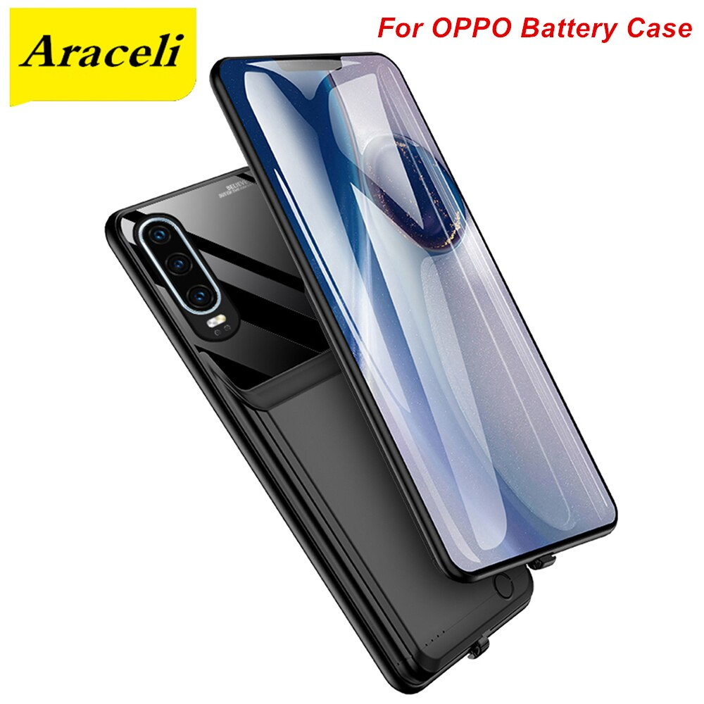 Araceli 10000 Mah For OPPO R17 R17 Pro Reno Reno Z Reno 2 3 Ace Find X2 Ace 2 A92S Battery Case Smart Charger Case Power Bank