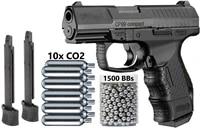 umarex walther cp99 compact blowback co2 177 cal pistola de chumbinho 345 fps espingarda de chumbinho metal wall sign