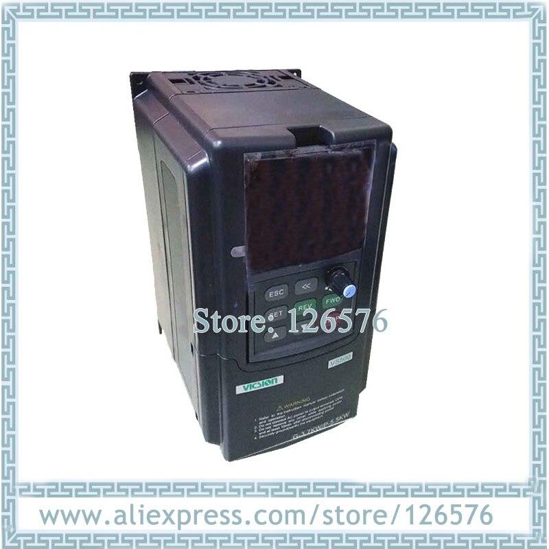 Original nuevo VFD sunfar inversor de frecuencia VS500-4T0037G 3.7Kw AC380V 400HZ VFD inversor