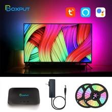 Ambient TV PC background light HDMI Sync box Lighting Kit For game/Alexa/Google /TVs Box USB Led Neo