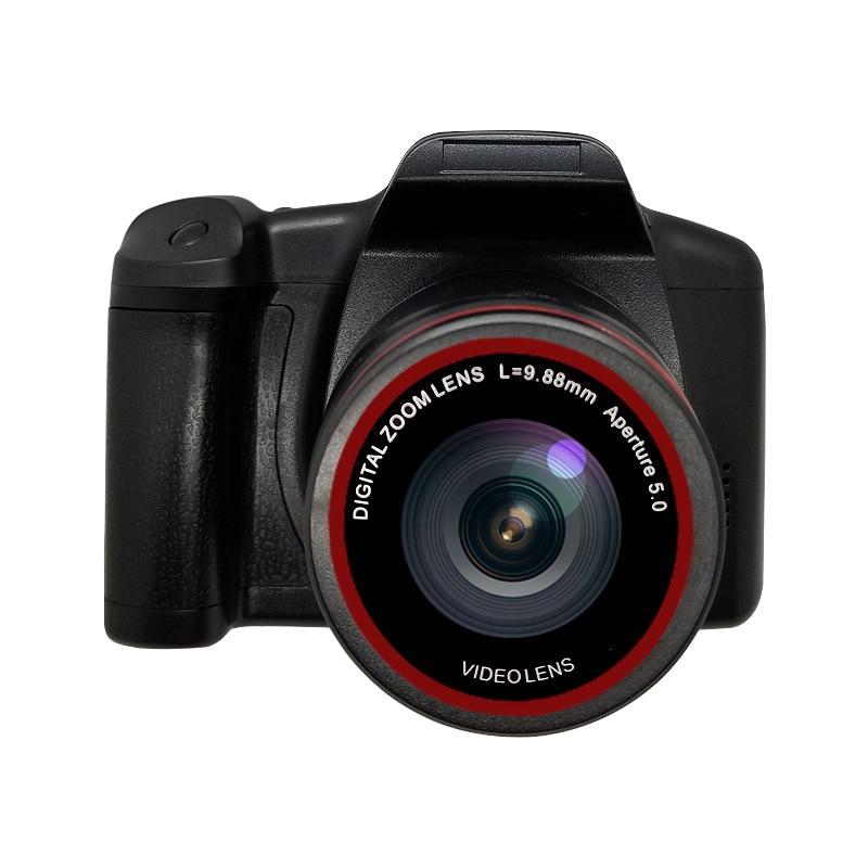 SLR 2.4 Inch TFT LCD Screen Home Small SLR Digital Camera Webcam 16X Zoom USB 2.0 Telephoto AV Interface Digital Camera + Tripod enlarge