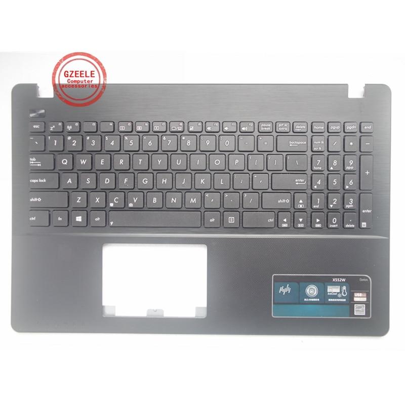 جديد محمول Palmrest الغطاء العلوي ل ASUS X550C K550 A550C A550VB Y581C X550 K550JK FX50J Y581CL X552W W50J لنا UI لوحة المفاتيح