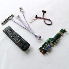 """Fit LP116WH1/LP116WH2/LP116WH6 40Pin Lvds Laptop Panel Vga + Hdmi + Audio + Usb + Rf Wled 11.6 """"1366*768 Scherm Controller Board Diy Kit"""