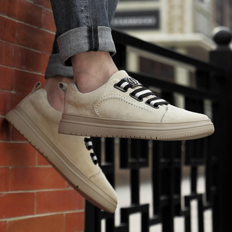 High Quality Men Casual Shoes Men Breathable Leather Lace Up Flats Shoes Outdoor Anti-skidding Men Shoes Sneakers breathable outdoor shoes men breathable lace up casual shoes flats quality comfortable men shoes zapatos hombre