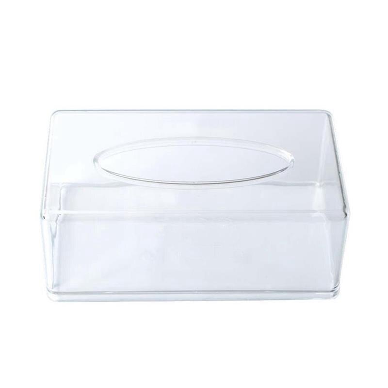 Коробки для салфеток прозрачные ванны/Туалетная бумага контейнер для салфеток коробки для домашней кухни посуда