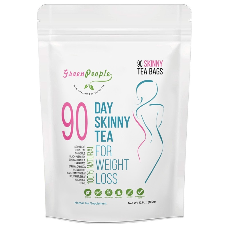 100% de 30/60/90 días, productos naturales puros, represto para desintoxicación dieta de bolsitas de té, para pérdida de peso, quemador de grasa para limpieza corporal