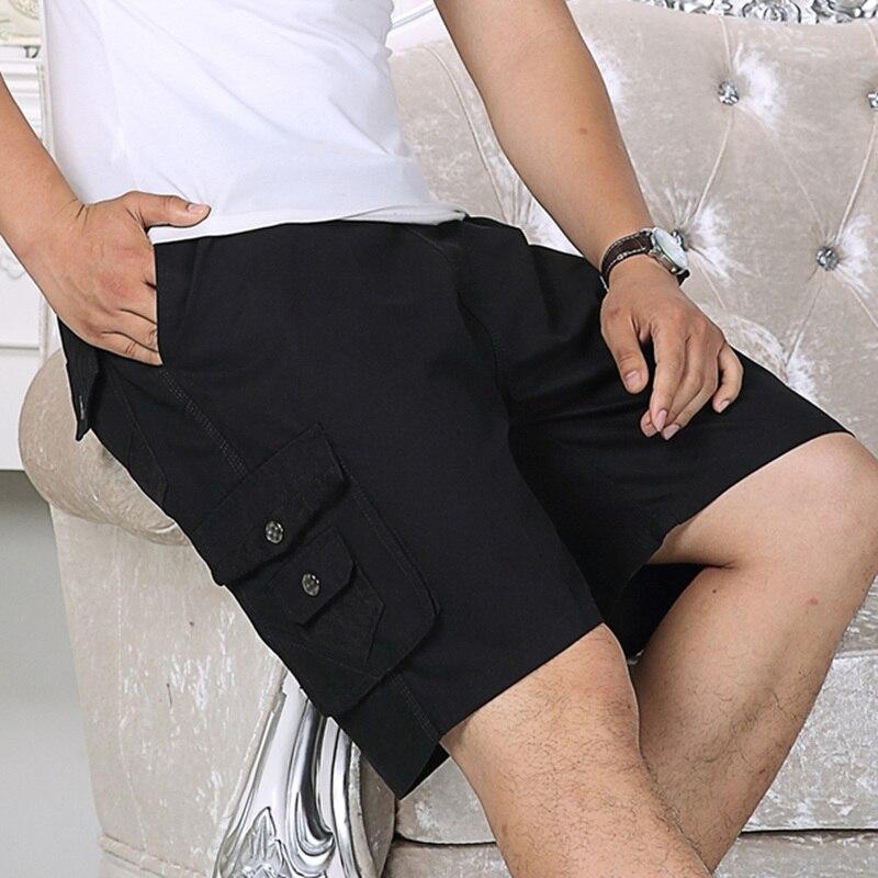 Новые стильные рабочие шорты, мужские летние модные военные тактические мужские шорты, повседневные мужские свободные шорты с несколькими ...