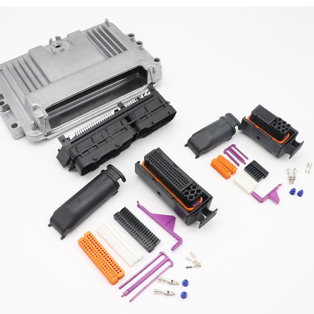 موصل وحدة التحكم الإلكترونية 121P ، نظام التحكم في الكمبيوتر ، صندوق تعديل الألومنيوم ، موصل السيارة 1241434-1