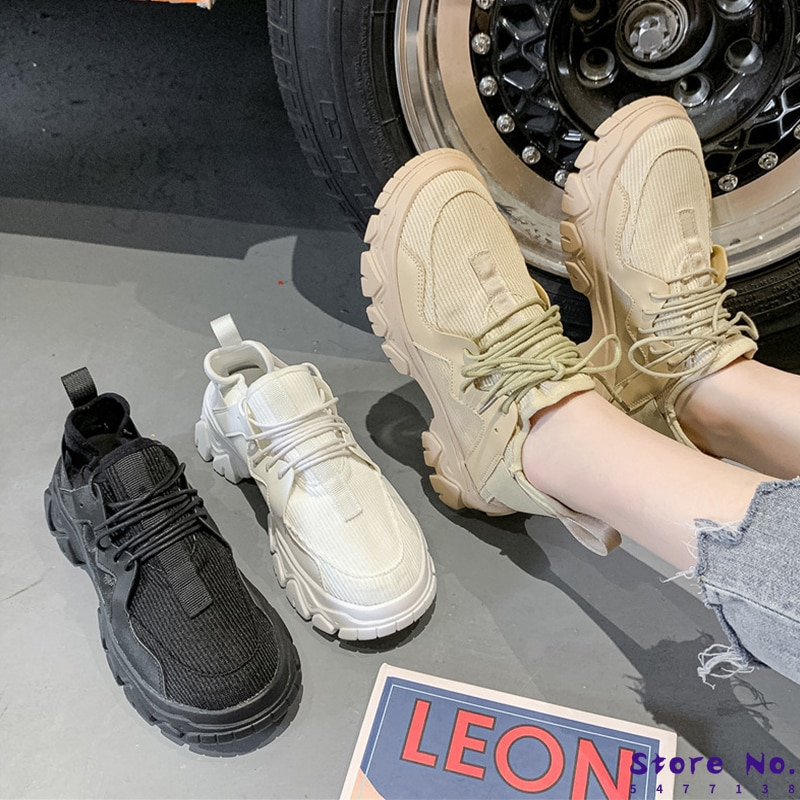Womens Trainers Women's Sneakers With Platform Casual Shoes Woman shoes Woman-shoes Running Thick He