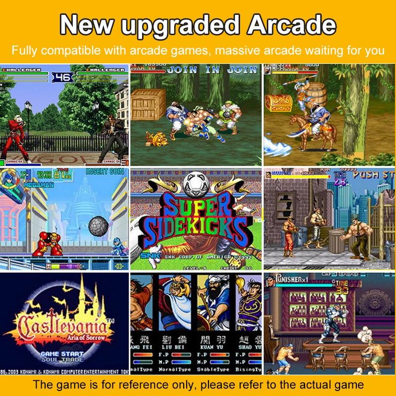 Retro Video Classic Dual-Shake Game Console Player Handheld Gaming Portable Portatil Mini Arcade Video Games Machine Retrogame enlarge