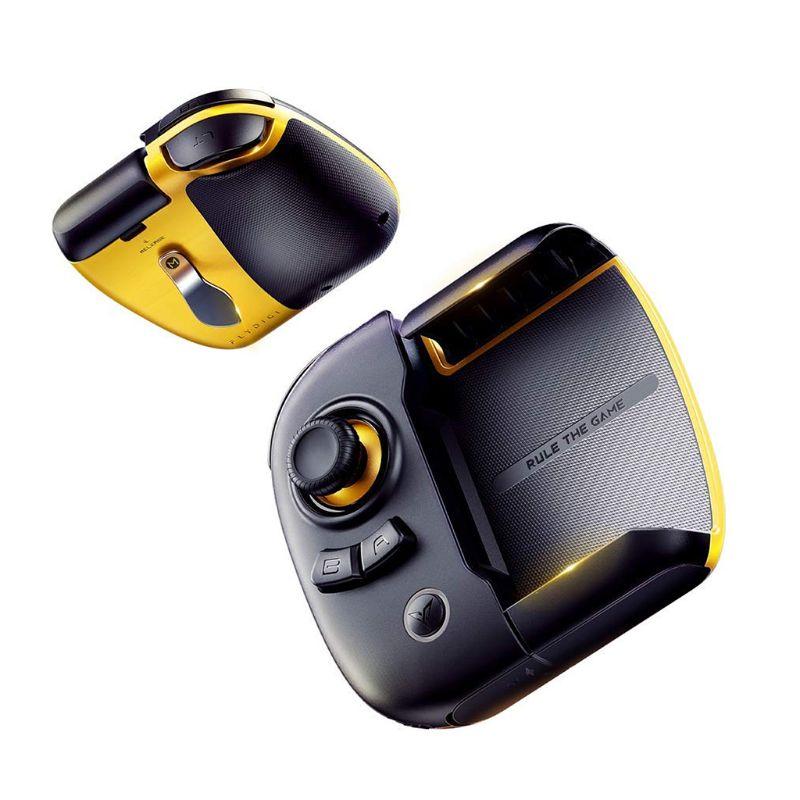 Flydigi Wasp 2 mando de media mano para teléfono móvil pad tableta controlador pubg COD móvil para IOS/controlador de Bluetooth para Android
