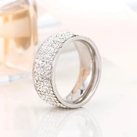 luxury crystal female ring charm zircon engagement wedding band rings for women men finger party jewelry