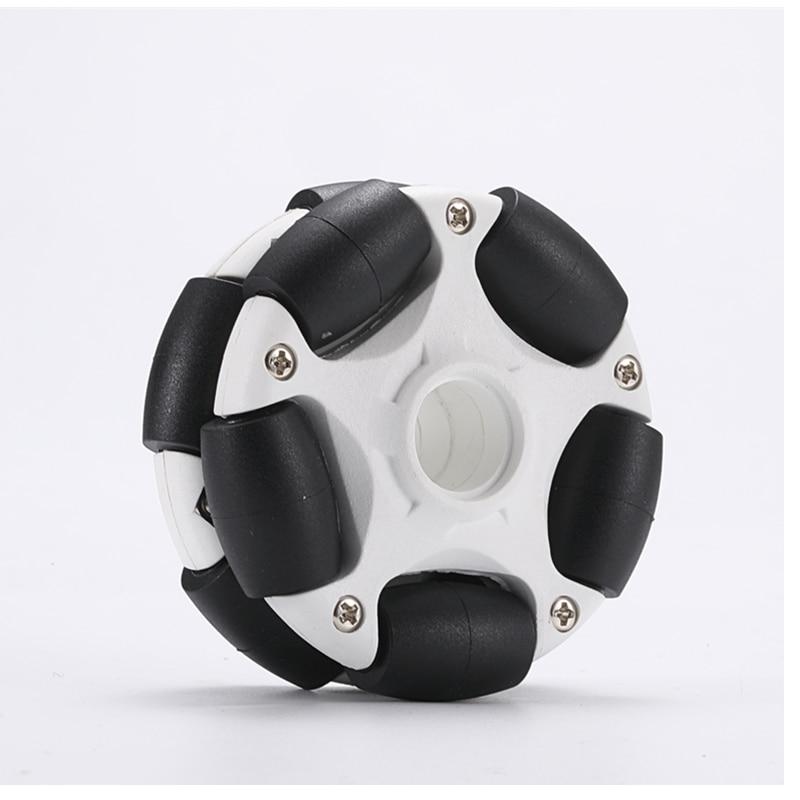 58mm Nylon Omni Wheel Robot ROS Car Omni-Directional Wheel Compatible With NXT EV3 Robot Toy Parts a group of 4 60mm 14159 mecanum wheel omni wheel robot 60 mm aluminum wheels