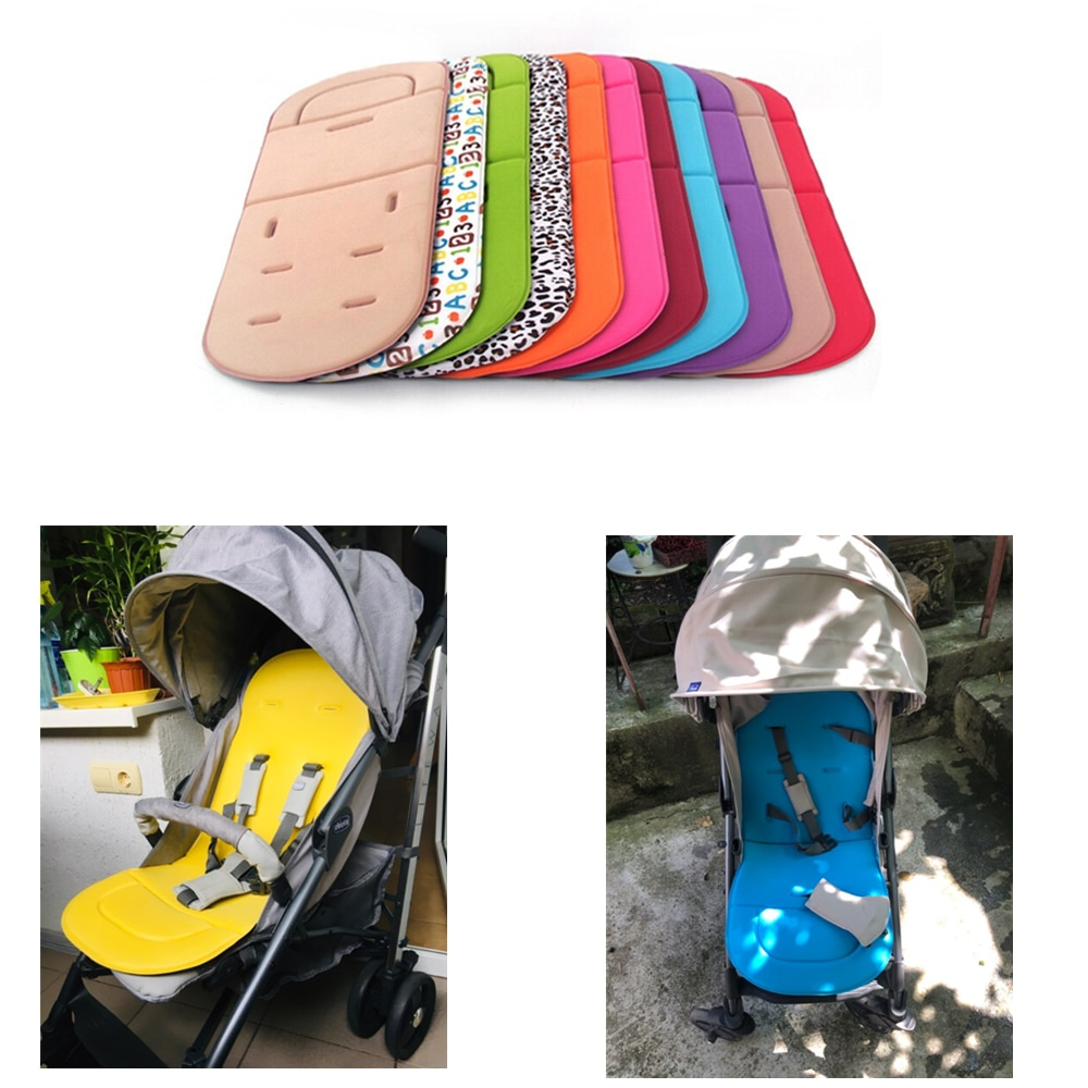 Baby Stroller Soft Cushion Pram Car Seat Mat Pushchair Cover Liner Pad Washable Stroller Accessories