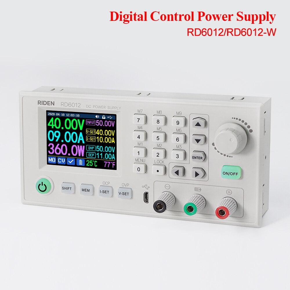 RD6012 RD6012W التصنيع باستخدام الحاسب الآلي تيار مستمر قابل للتعديل امدادات الطاقة التجريبية إصلاح مفتاح الطاقة الجهد استقرار مصدر 60 فولت وحدة تن...