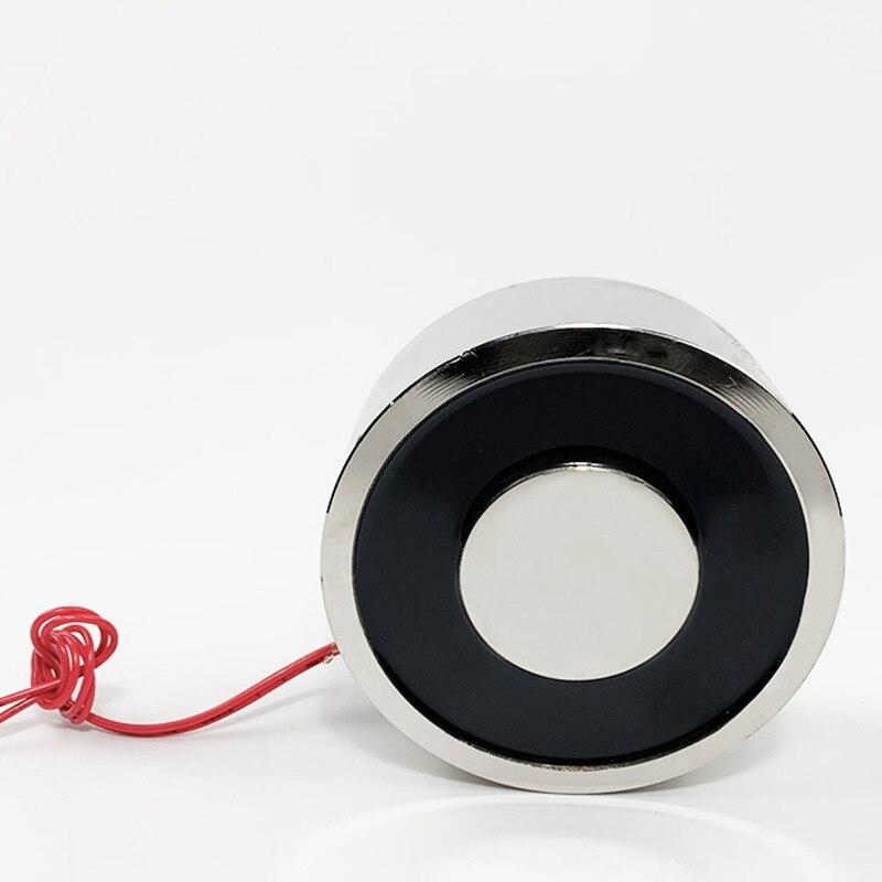 1 قطعة عقد مغناطيس الملف اللولبي تيار مستمر 12 فولت 24 فولت الكهرومغناطيسية P100/40(100 مللي متر ضياء. ارتفاع 40 مللي متر قوة 240 كجم قوة مصاصة 15 وات
