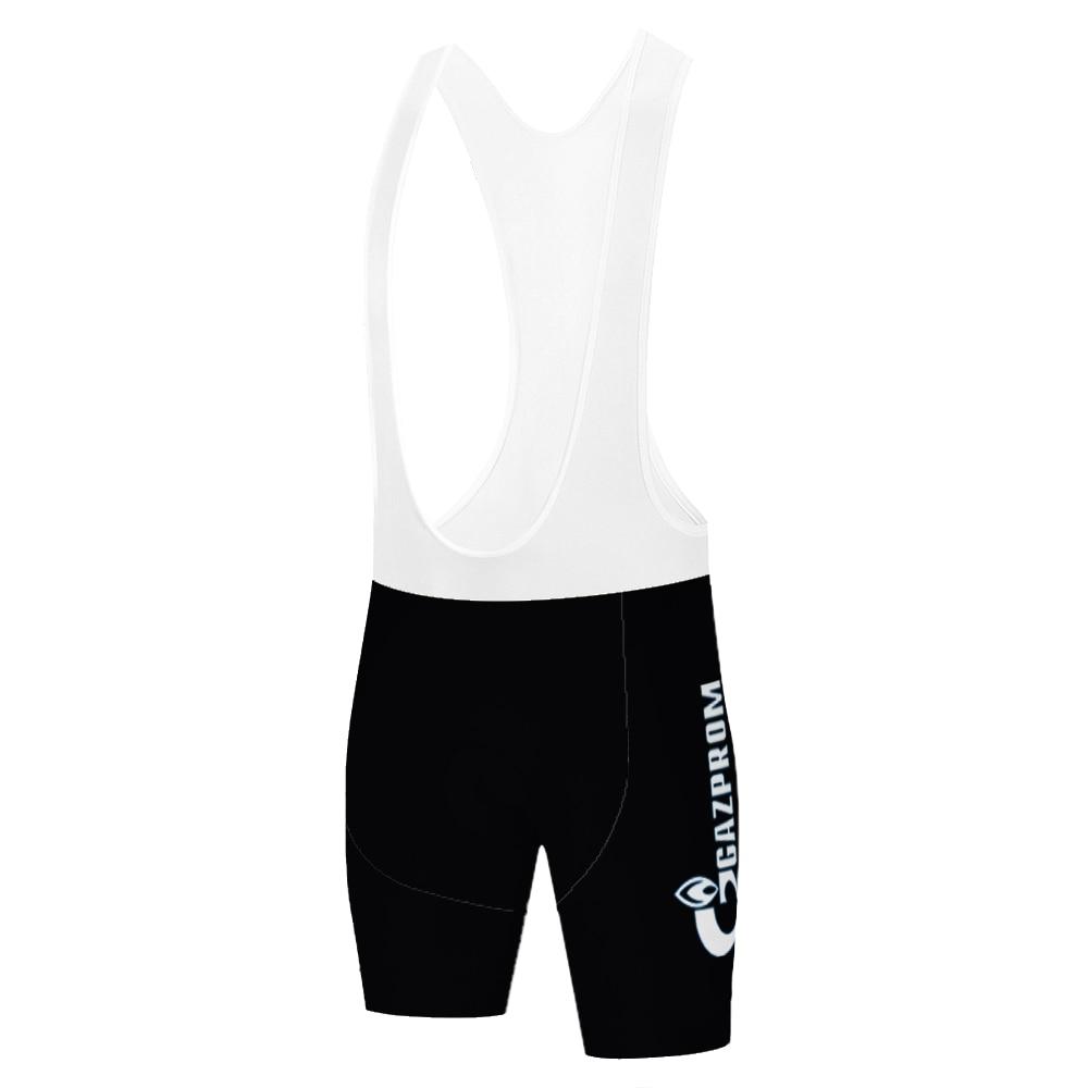 Corte a Laser Equipe Gazprom Pantalon Corte Ciclismo Hombre Verão Secagem Rápida Shorts 20d Gel Almofada 2021