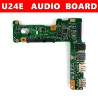U24E AUDIO BOARD Fur ASUS U24E U24A HDD festplatte adapter board soundkarte USB SD festplatte interface REV 2 0 Audio Board