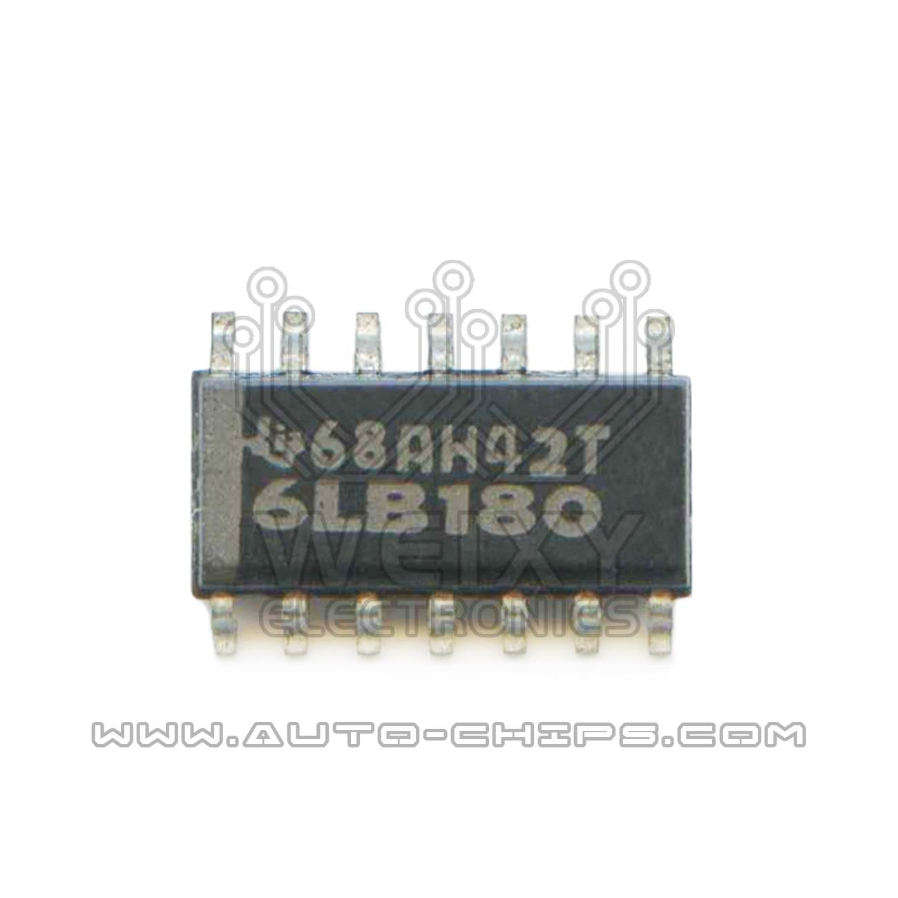 6lb180 uso da microplaqueta para automotivos