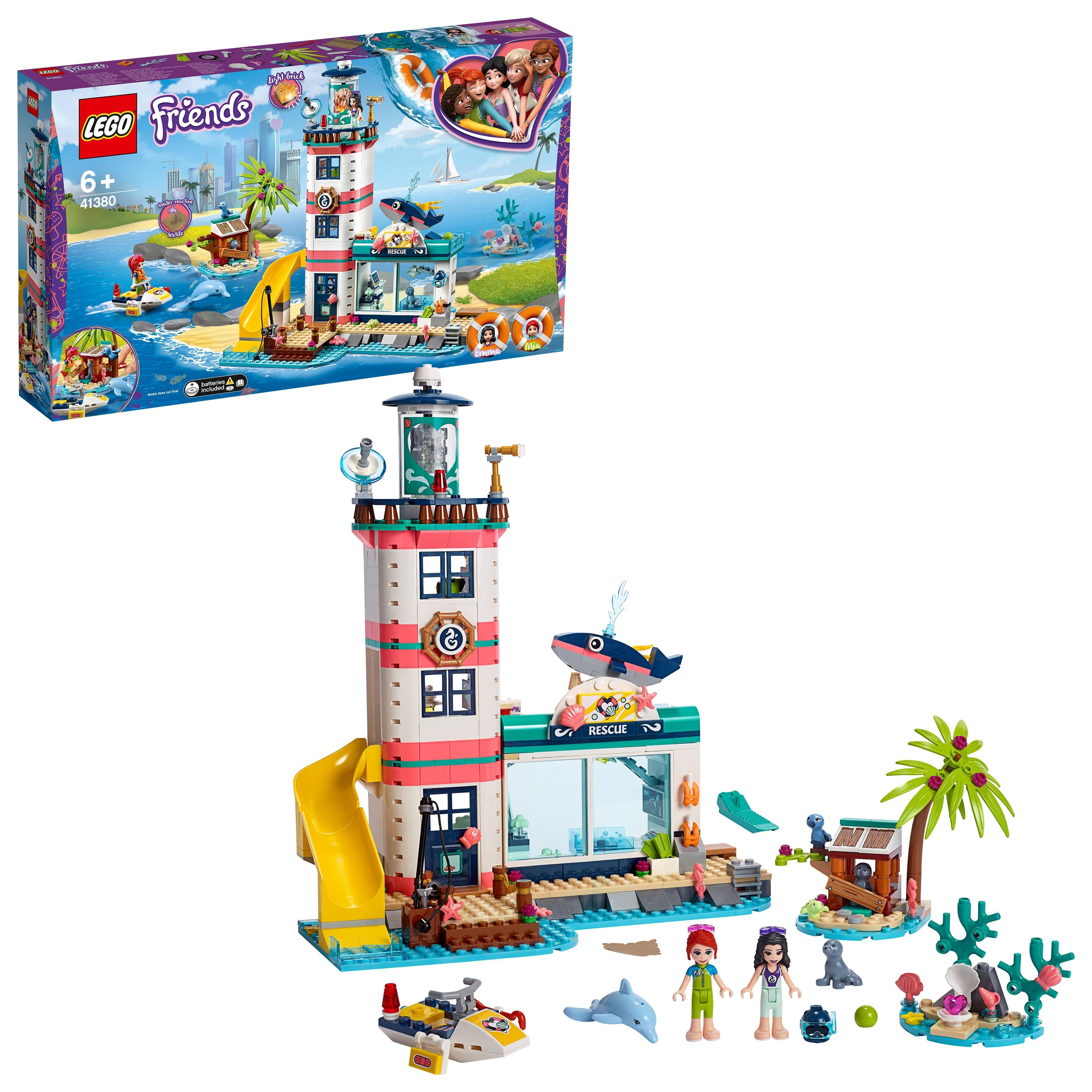 Designer Lego Friends 41380 rescue center on the lighthouse