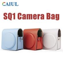 FUJIFILM Instax SQUARE SQ1 Camera Bag 4 colours Vintage PU Leather Case Shoulder Strap Pouch Carry C
