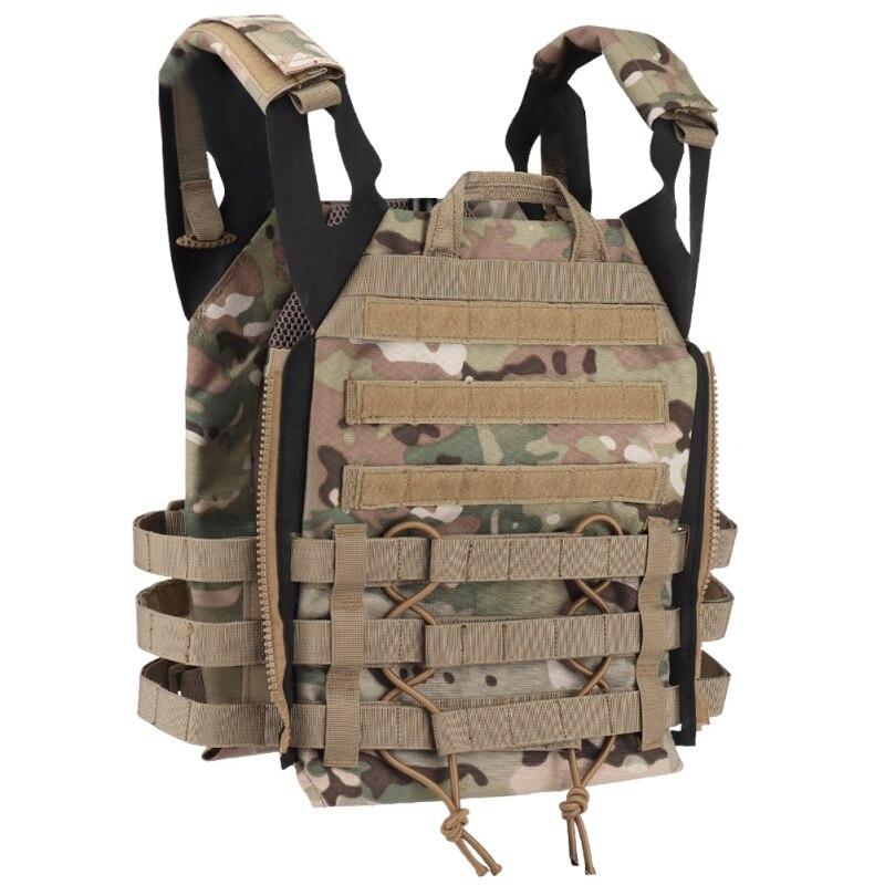 Nueva armadura de cuerpo de caza JPC Molle Plate Carrier chaleco juego CS al aire libre Paintball Airsoft chaleco tiro accesorios 2020