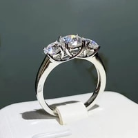 100 real s925 sterling silver color ring women natural diamond gemstone bizuteria silver 925 jewelry wedding anillos de rings