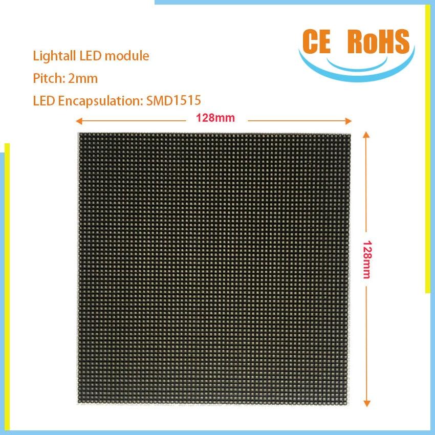 3in1 led zeichen P2 128*128mm mini led-modul indoor 32scan smd1515 rgb matrix led video panel ecran pantalla led-anzeige P3 P6