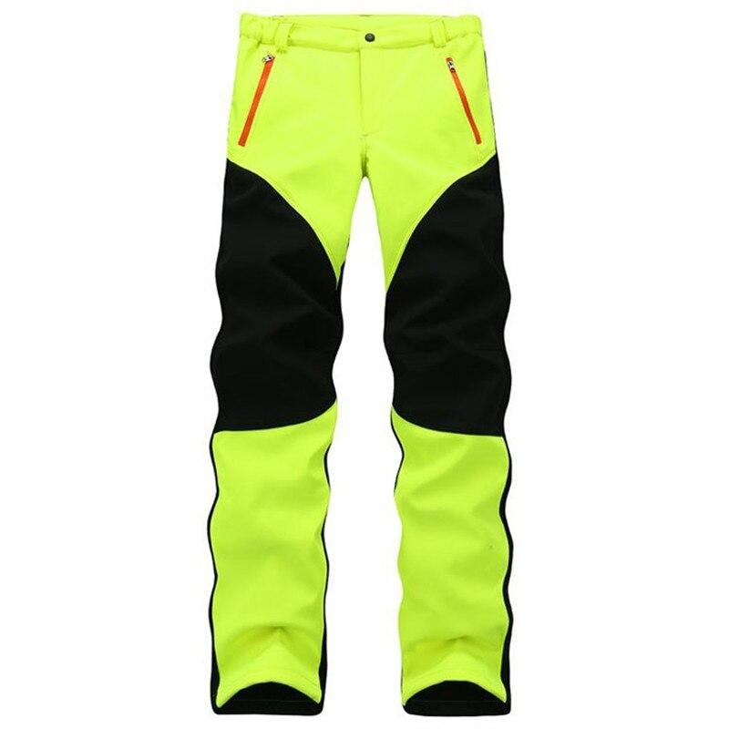 ¡Nuevo de invierno 2019! Pantalones de lana SoftShell a prueba de viento para hombre, pantalones casuales de alta calidad 34-47 802