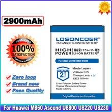 LOSONCOER 2900mAh HB4F1 Battery For Huawei M860 Ascend U8800 U8220 U8230 E5830 E5832 E5838 E5 C8600 E585 Good Quality Battery