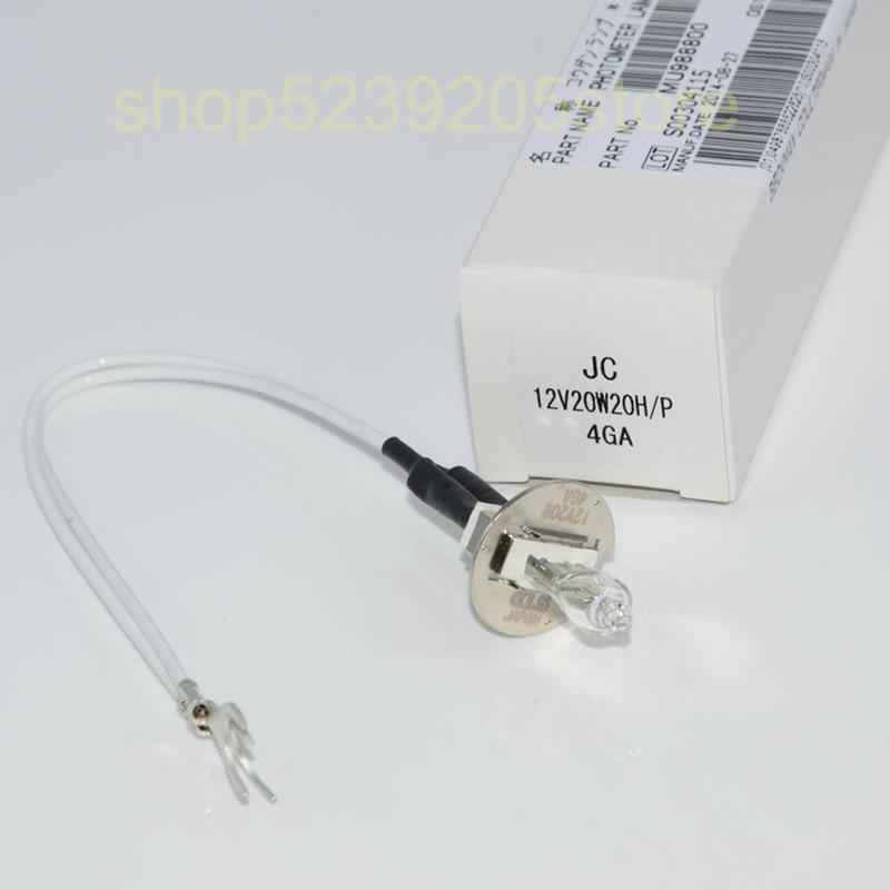 KLS JC12V20W20H/P MU988800 مصباح مقياس الضوء أوليمبوس AU400/AU480/AU600/AU640/AU680 محلل كيميائي حيوي ضوء لمبة jc 12 فولت 20 واط
