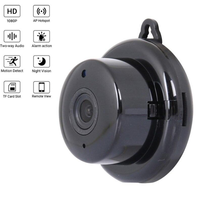 Mini Wifi IP Camera HD 1080P Wireless Indoor Doorbell Night Vision Two Way Audio Motion Detection Baby Monitor Micro Camera